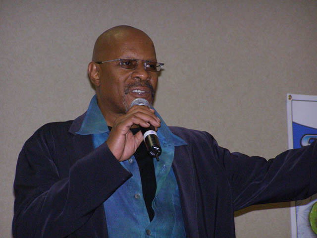 Avery Brooks at Columbus Sci-Fi Expo
