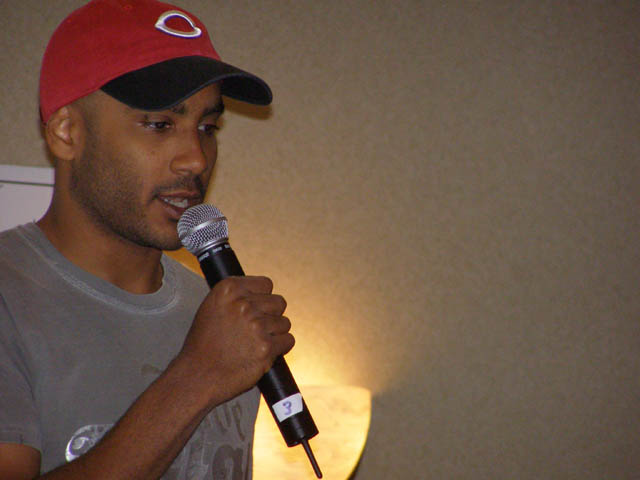 Cirroc Lofton at Columbus Sci-Fi Expo