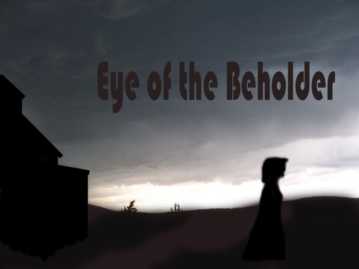 "Preliminary artwork for ""Eye of