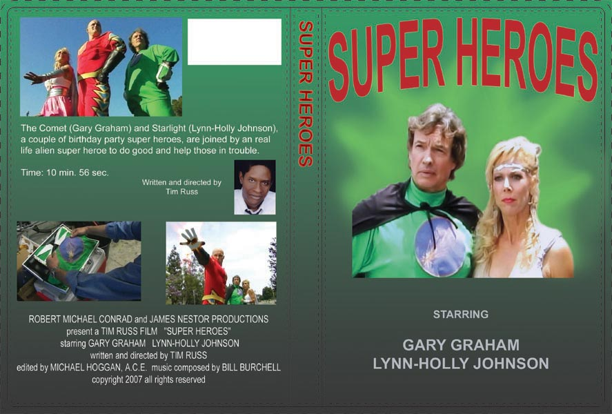 DVD cover for Super Heroes